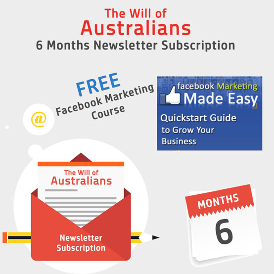 Monthly Newsletter Subscription With Free Facebook Marketing